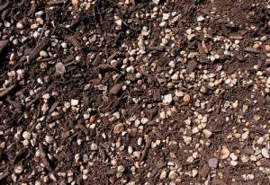 clay mixed soil